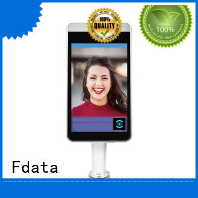Fdata removable battery nfc terminal promotional with bar code reader