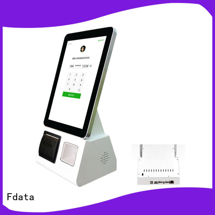 Fdata cost-effective 32 inch kiosk supplier for ordering