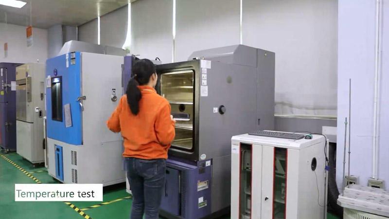Laboratory display + quality testing