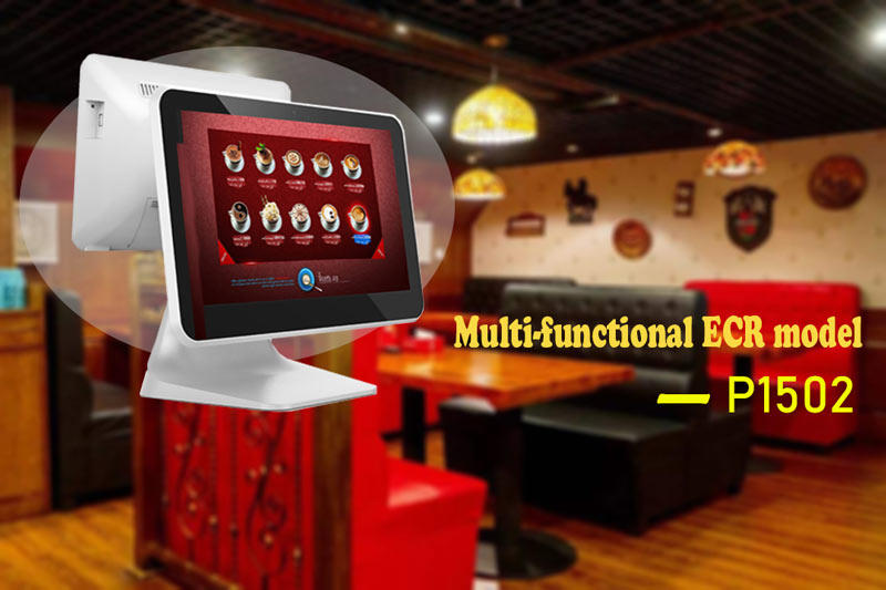 Fdata all in one pos system cash register multi-language for coffee shop