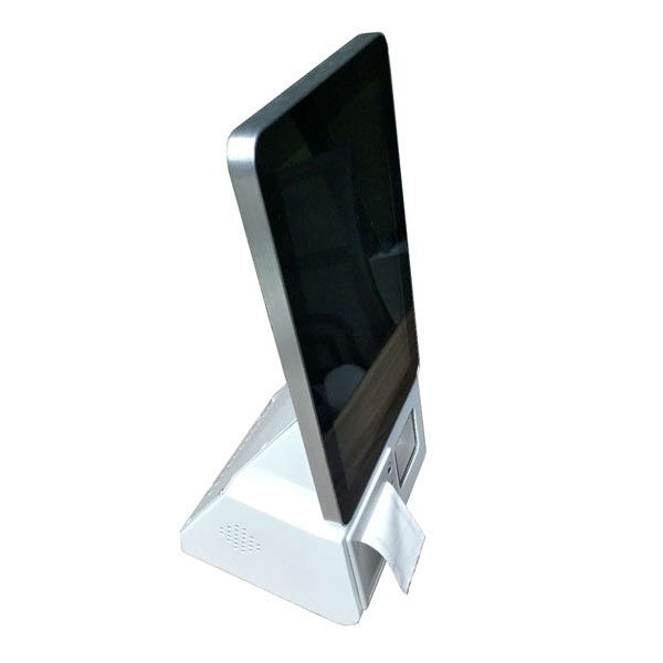 10.1 inch android based self-ordering terminal with built in barcode scanner and printer-4