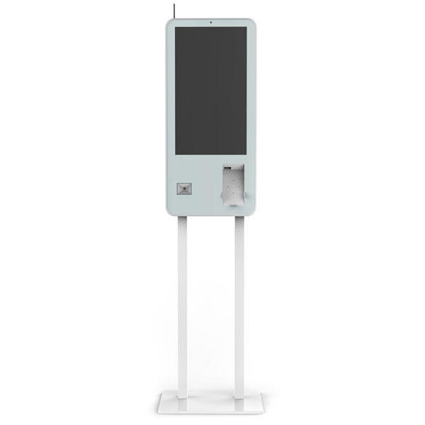 Fdata promotional barcode scanner kiosk floor standing for ordering