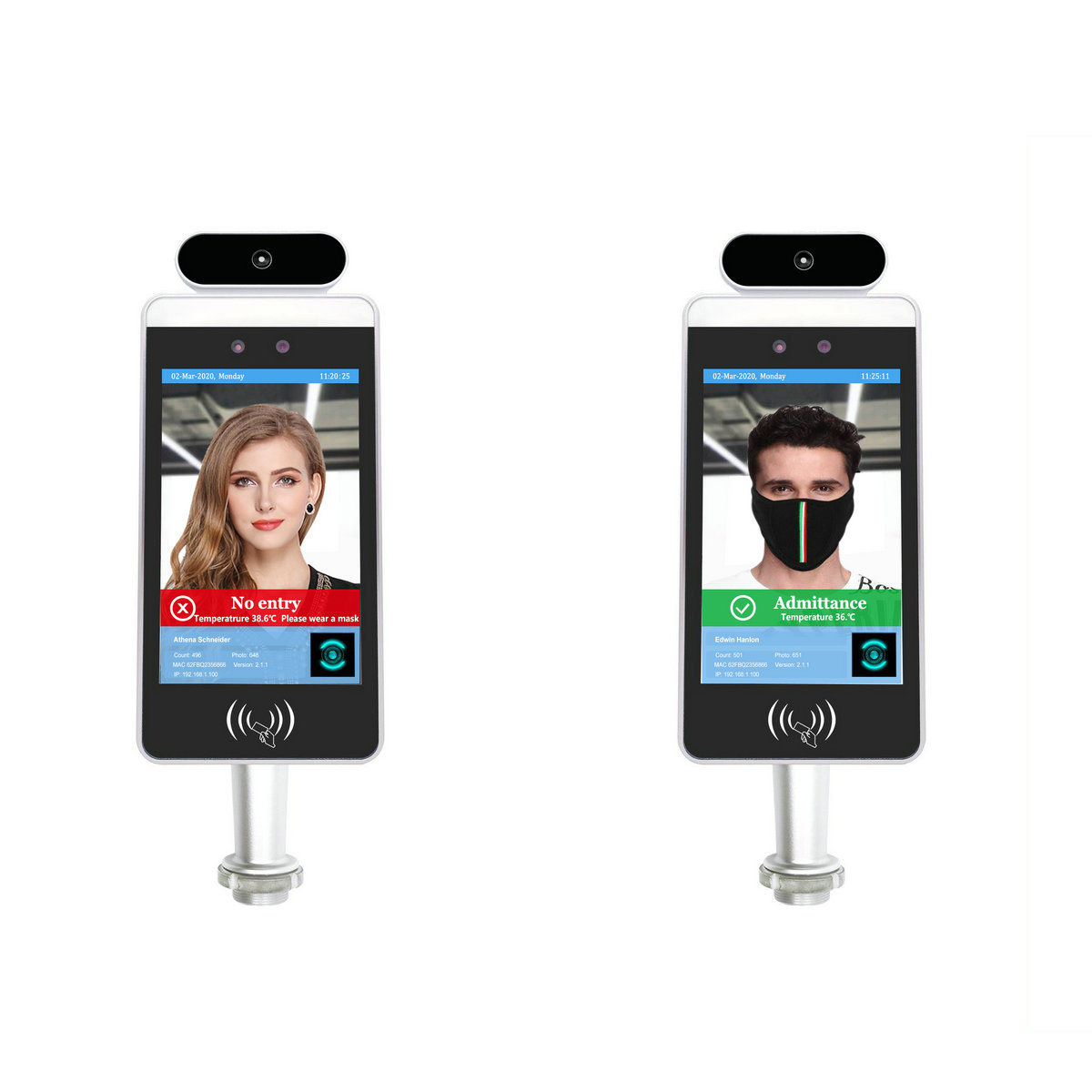 Fdata high quality face biometric attendance system wholesale-1