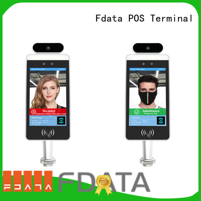 Fdata face reader attendance machine factory