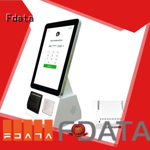 Fdata outdoor retail kiosk floor standing shopping malls