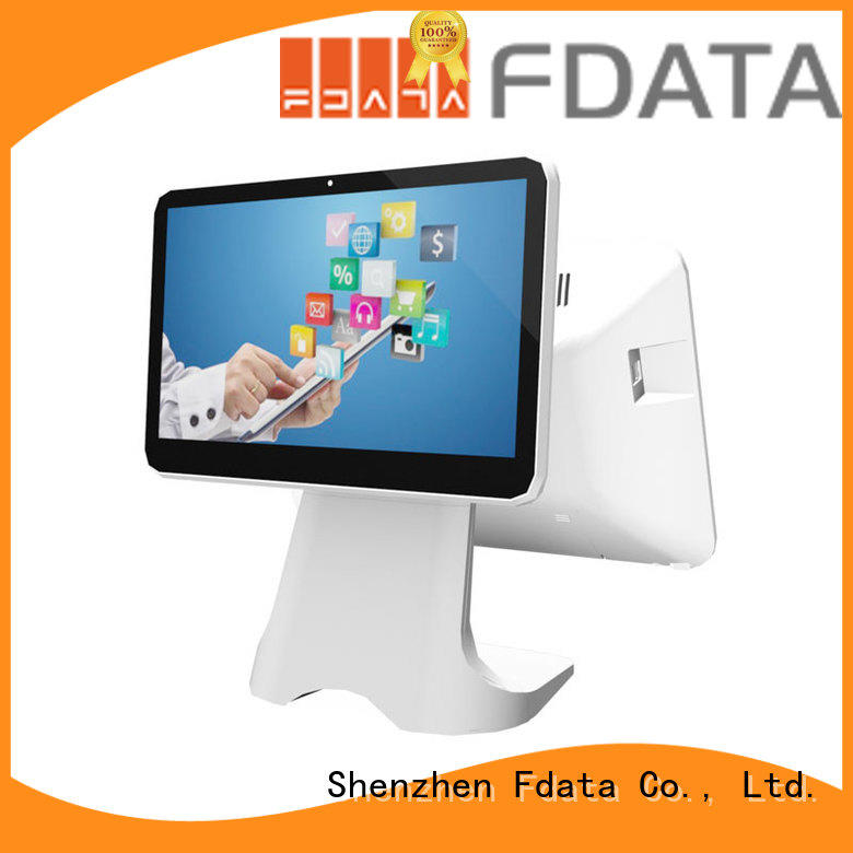 Fdata small business cash register multi-language for restaurant