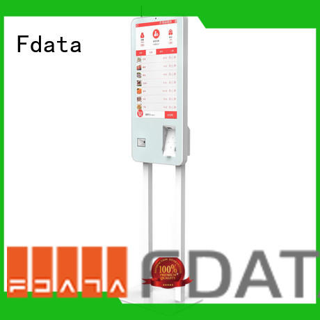 Fdata outdoor retail kiosk factory price for ordering