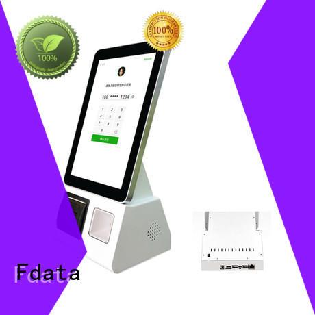 Fdata outdoor kiosk manufacturer for chain shops