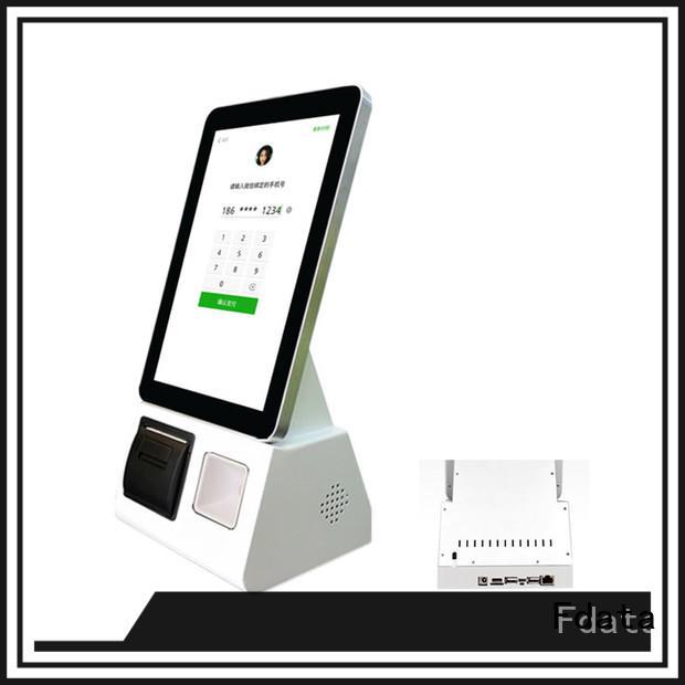 Fdata high-quality kiosk solution provider factory price for ordering