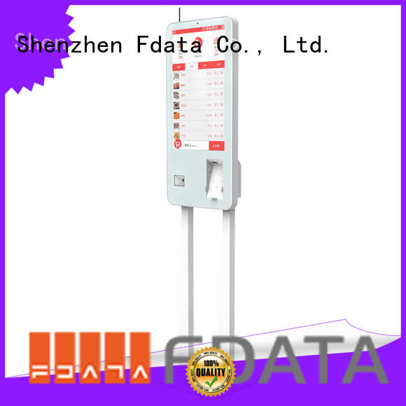 Fdata convenient vending kiosk series for restaurant