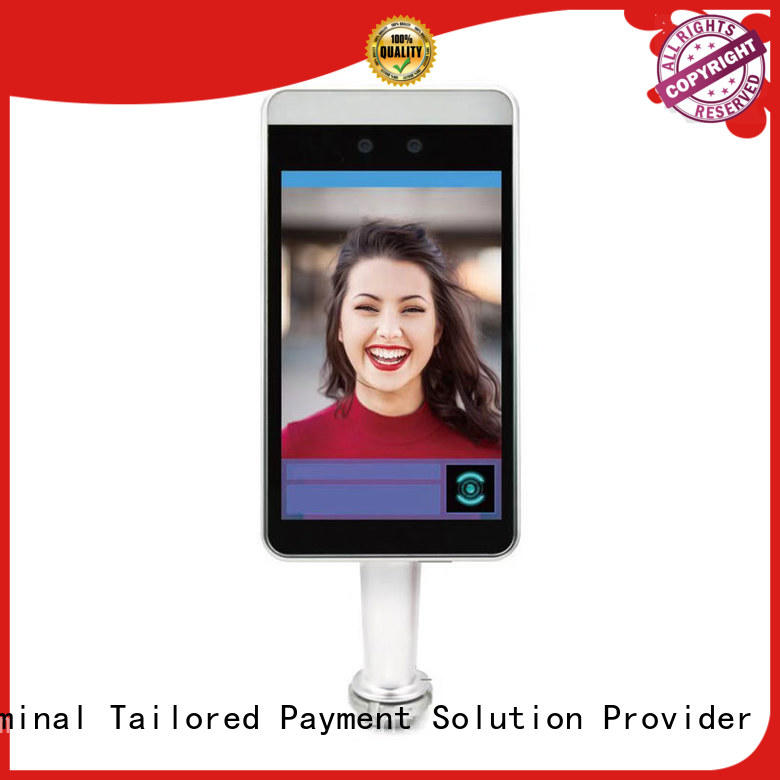 Fdata 5 point capacitive touch screen face scanner energy-saving best tablet solution