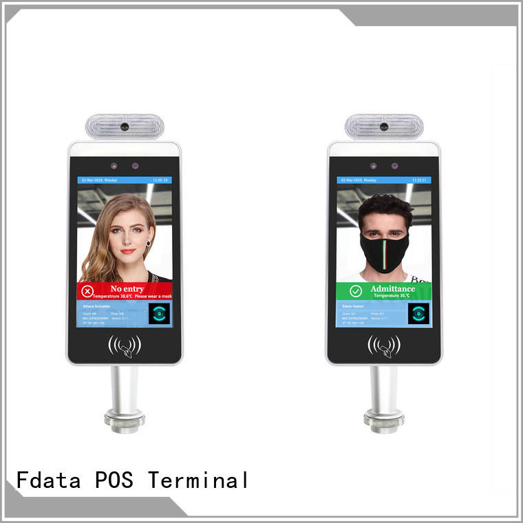 Fdata stable face attendance machine inquire now used in retail
