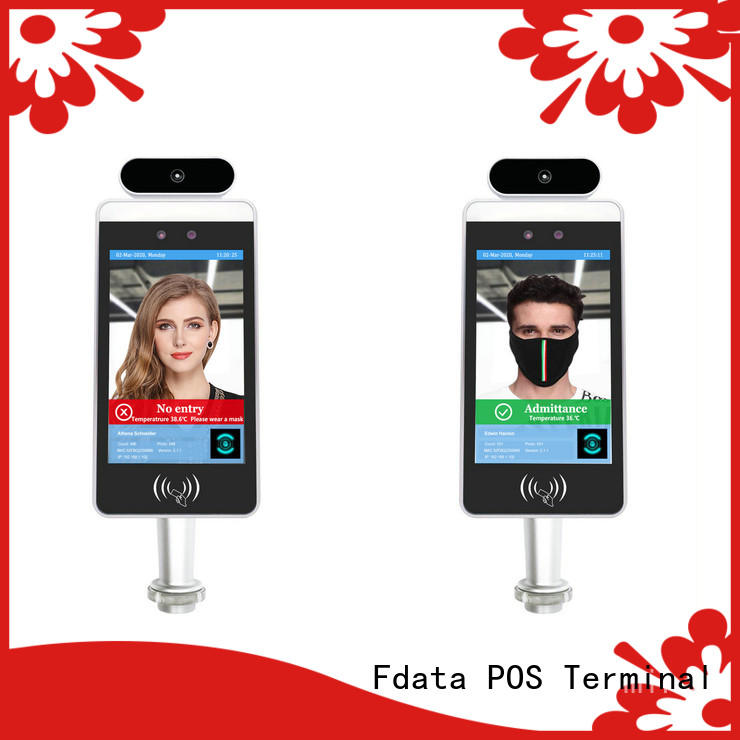 Fdata promotional biometric facial recognition manufacturer used in retail