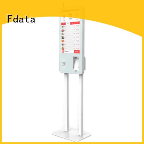 Fdata charging kiosk series for ordering