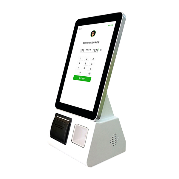 10.1 inch android based self-ordering terminal with built in barcode scanner and printer-1