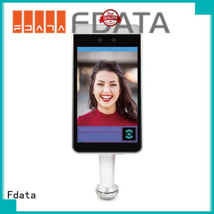 mobile pos terminal dual display best tablet solution Fdata