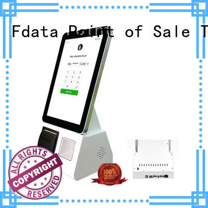Fdata charging kiosk easy-installation for restaurant