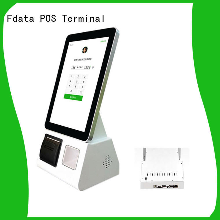 Fdata convenient self ordering kiosk wall-mounted at discount