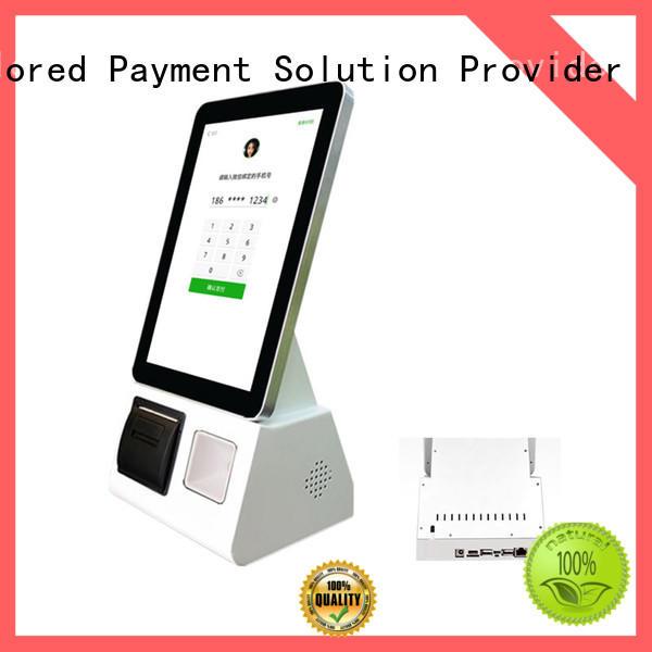 Fdata mobile kiosk design for restaurant