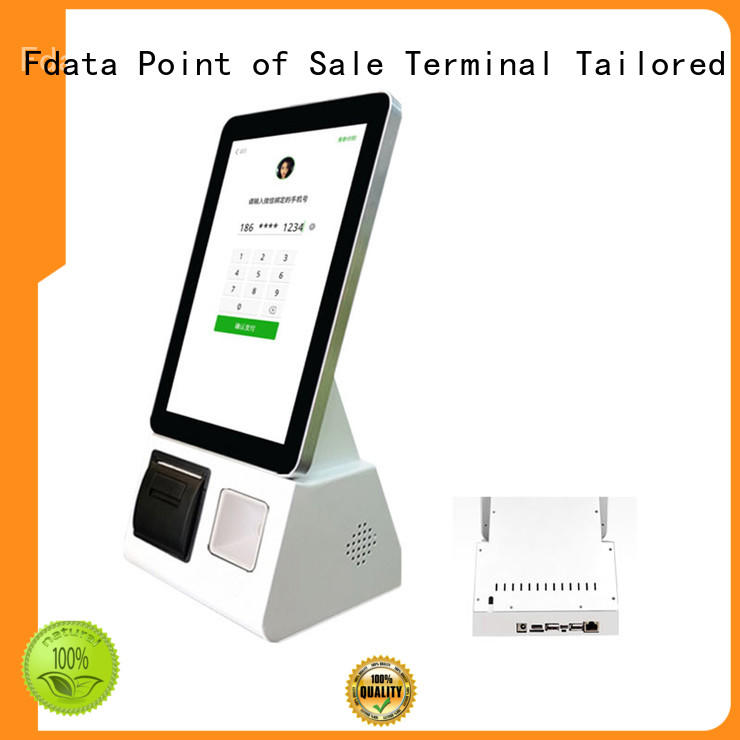 Fdata wholesale kiosk terminal manufacturer for restaurant