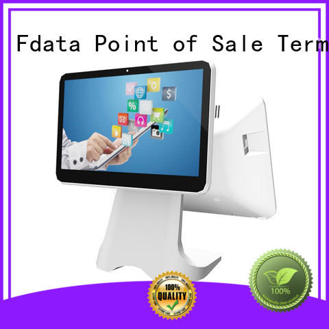 Fdata electronic cash register multi-language for coffee shop