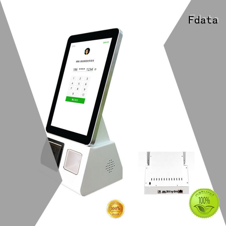 Fdata high-quality hotel kiosk floor standing for supermarket