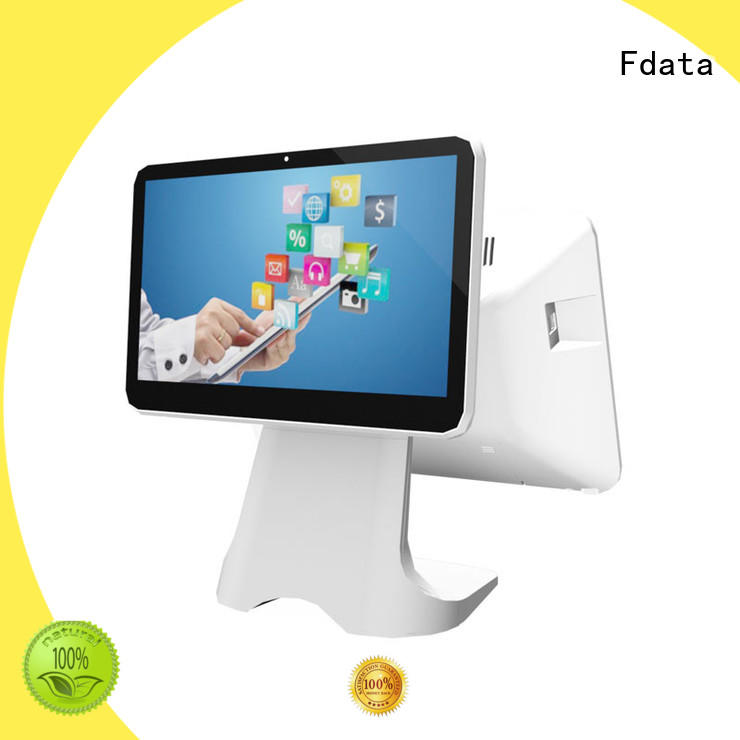 Fdata custom small restaurant cash register multi-language for supermarket
