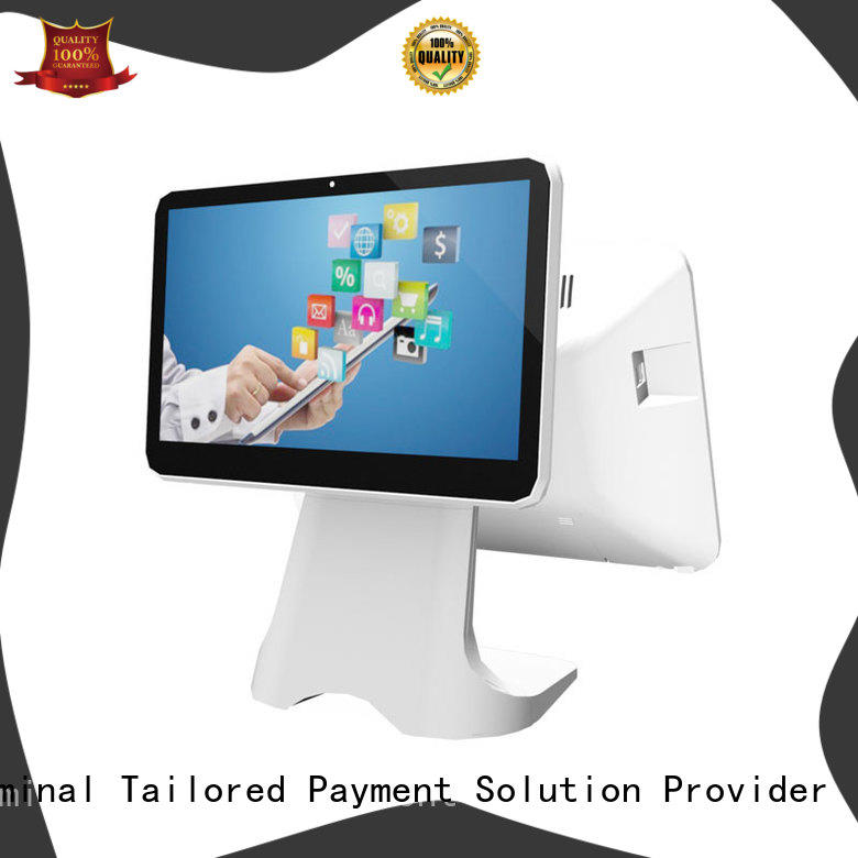 Fdata dual display pos system cash register multi-language for retail shops