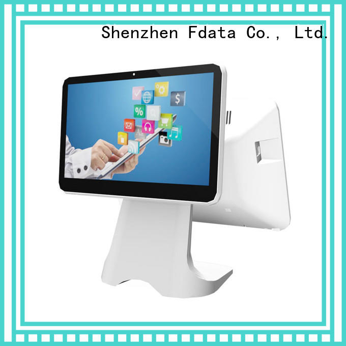 Fdata register card reader multi-language for coffee shop