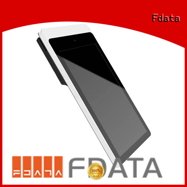 Fdata removable battery mobile pos system for android promotional best tablet solution
