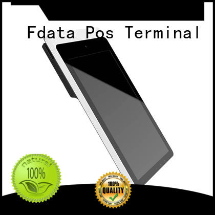 Fdata removable battery mobile pos system for android Android based with bar code reader