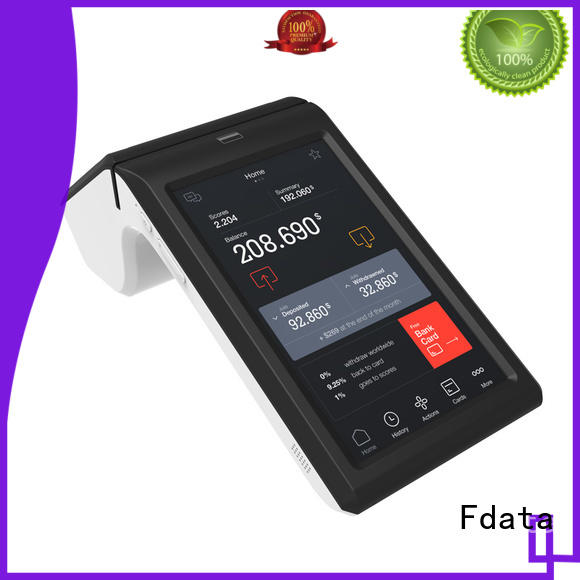 5 point capacitive touch screen smart terminal energy-saving for restaurant