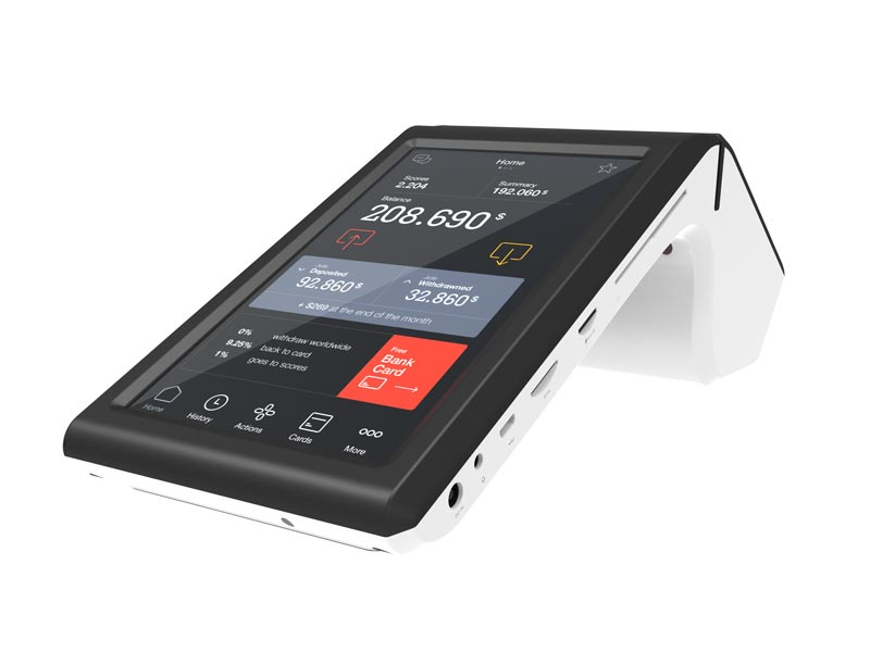 Fdata pos nfc terminals cost-effective with bar code reader-3