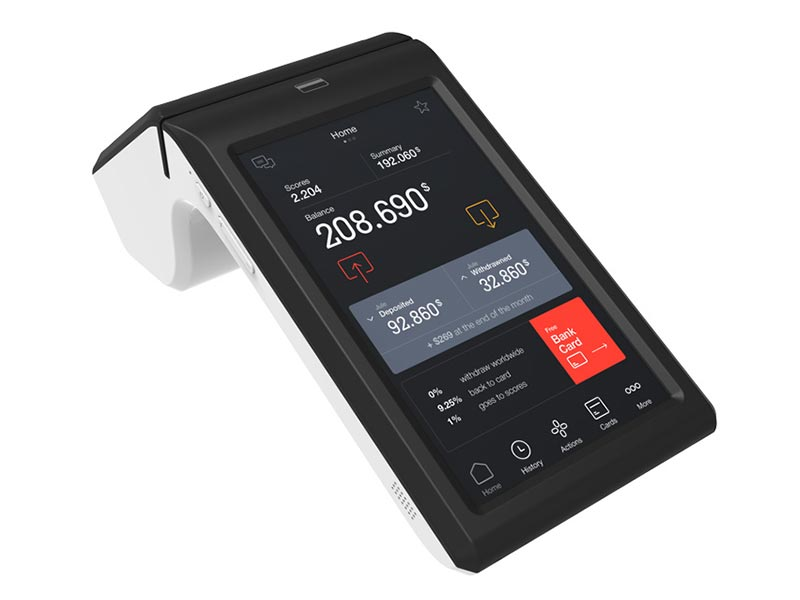 Fdata pos nfc terminals cost-effective with bar code reader-4