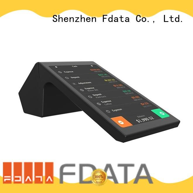 removable battery smart pos promotional for coffee shop
