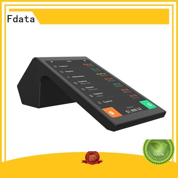 Fdata wifi-supportive card reader machine supplier for retail shops
