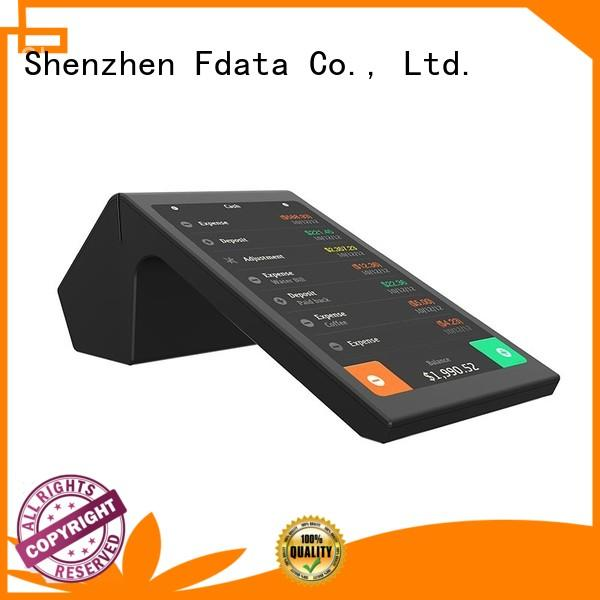 Dual-display Android based POS P704 with NFC, IC, MSR