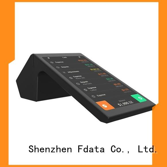 Fdata removable battery wifi pos terminal at discount for restaurant