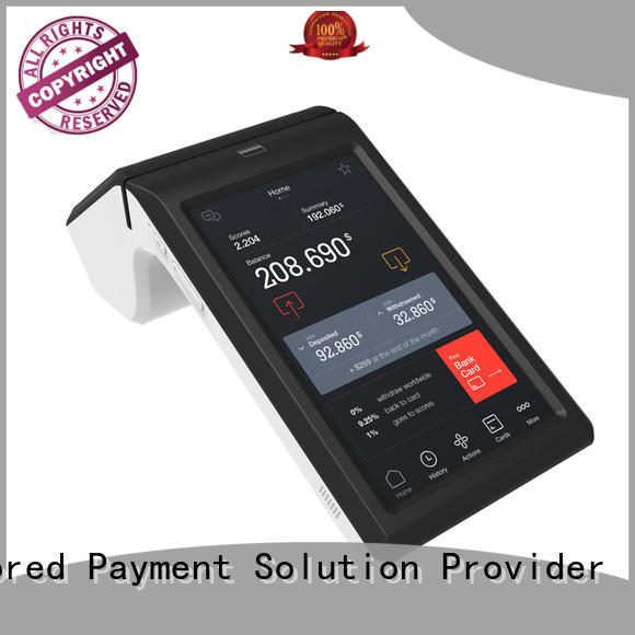 Android based handheld pos terminal high-quality best tablet solution