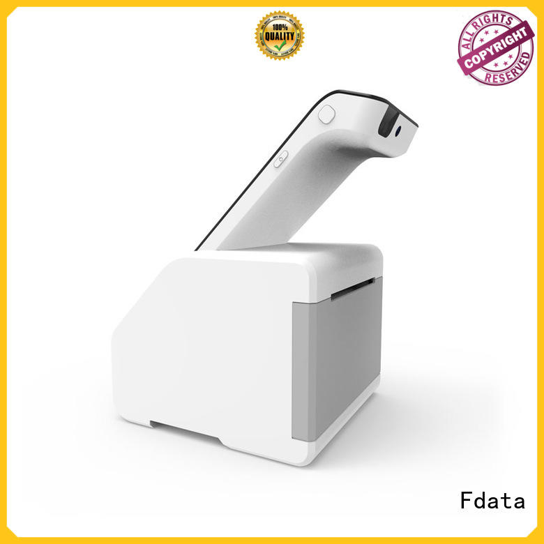 Fdata stable pos card reader at discount with bar code reader