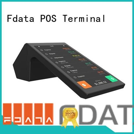 Fdata multi-functional desktop pos factory with bar code reader