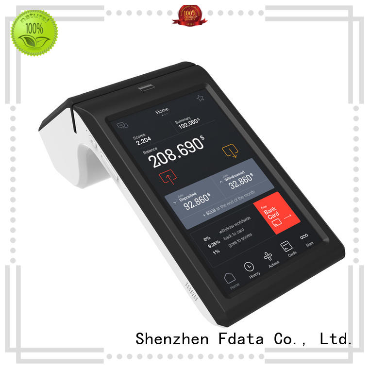 Fdata custom android pos wholesale best tablet solution