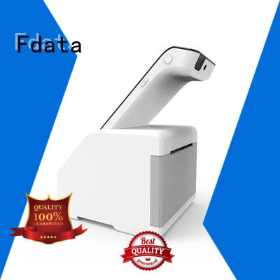 Fdata removable battery mobile pos machine wholesale with bar code reader