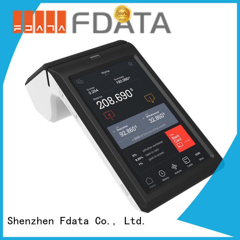 Fdata best price desktop pos wholesale for coffee shop
