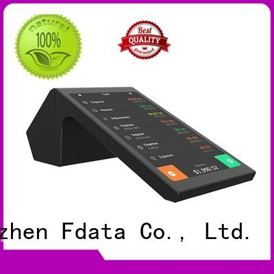 5 point capacitive touch screen payment terminal high-quality best tablet solution