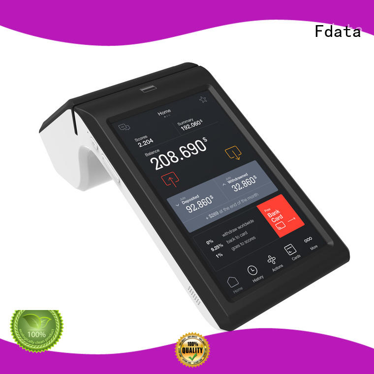 Fdata handheld pos terminal cost-effective for restaurant