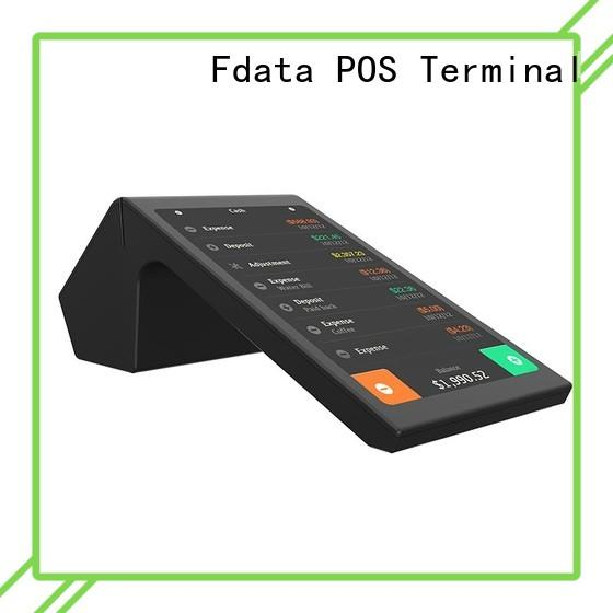 Fdata android handheld pos machine energy-saving for sale