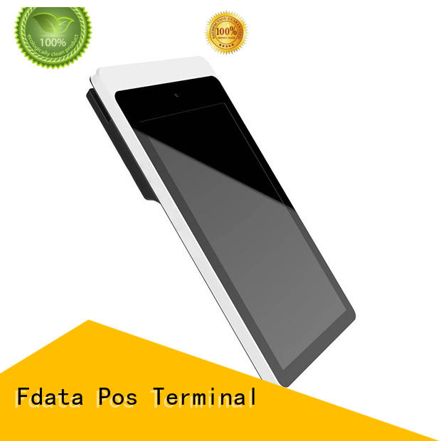 best price android mobile pos terminal top brand with bar code reader Fdata