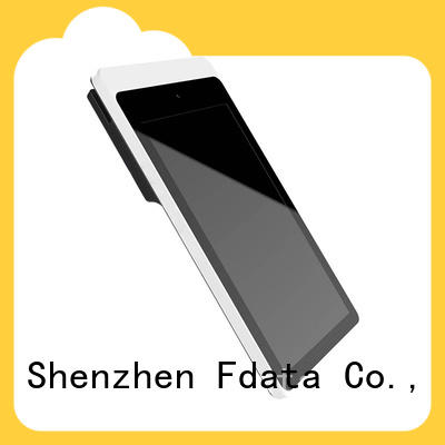 Fdata removable battery android tablet pos supplier best tablet solution