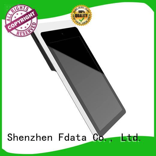 Fdata removable battery handheld pos terminal energy-saving for retail shops